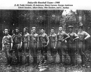 Daleyville Baseball Team 1908