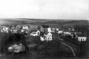 Daleyville From Steeple 1906