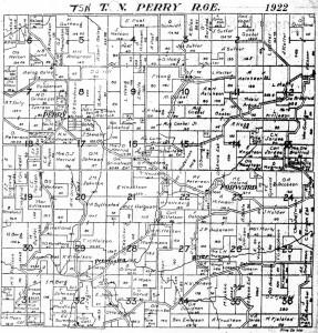 1922 Plat Map